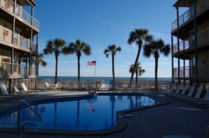pool overlooking the Gulf of Mexico